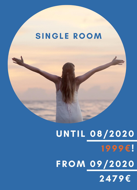 Single room Rates Bali Retreat